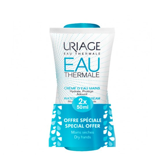 URIAGE EAU THERMALE DUO CREME DE MAOS 2 X 50 ML