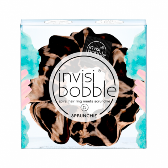 INVISIBOBBLE ELASTICO CABELO SPRUNCHIE PURE LEOPARDO