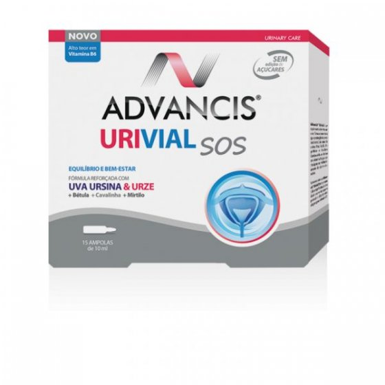 ADVANCIS URIVIAL SOS 15 AMPOLAS
