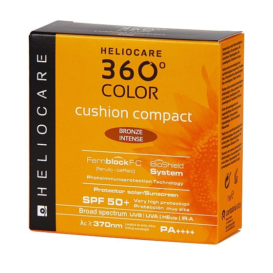 HELIOCARE 360 COLOR CUSHION COMPACT SPF50+ BRONZE INTENSO 15G