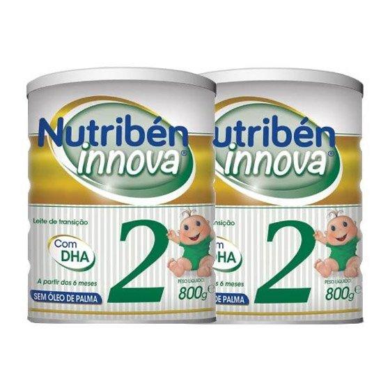 NUTRIBEN INNOVA 2 LEITE TRANSICAO 800 X 2 -50% 2ª UNIDADE