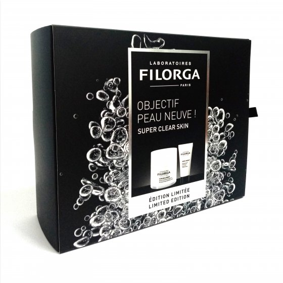 FILORGA SCRUB & MASK MASCARA ESFOLIANTE OXIGENACAO 55 ML COM OFERTA DE MESO-MASK MASCARA ANTI-RUGAS LUMINOSIDADE 15 ML