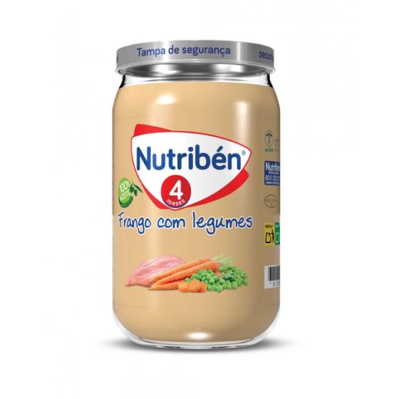 NUTRIBEN BOIAO 6 FRANGO COM LEGUMES 235G