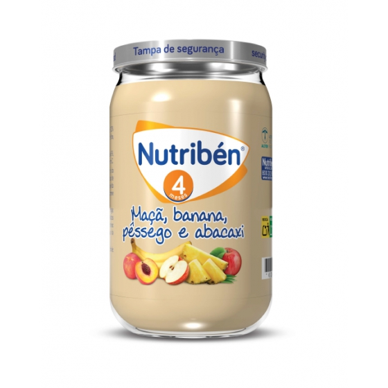 NUTRIBEN BOIAO 6 MACA BANANA PESSEGO ABACATE 235G