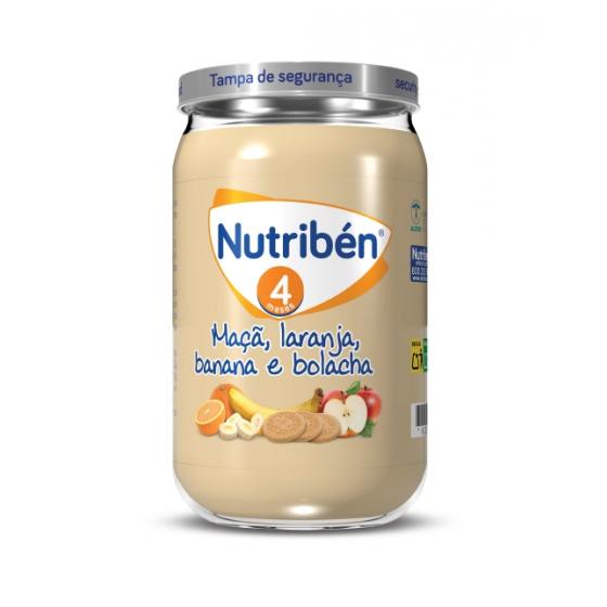 NUTRIBEN BOIAO 4 MACA LARANJA BANANA BOLACHA 235G