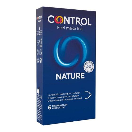 CONTROL NATURE PRESERVATIVO ADAPTA X 6