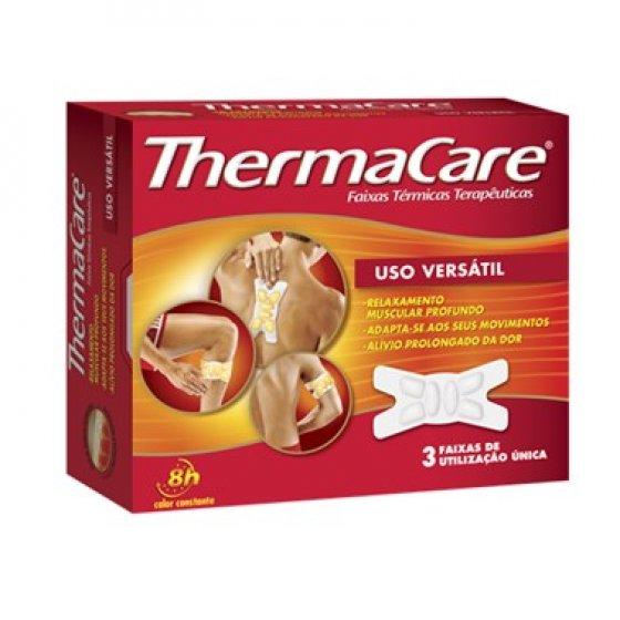 Thermacare Uso Versátil Faixas Térmicas 3 Unidades