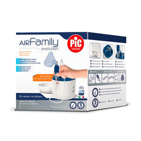 PIC AIR FAMILY EVOLUTION NEBULIZADOR PISTAO