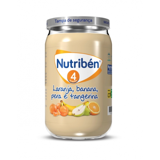 NUTRIBEN BOIAO 6 BANANA LARANJA TANGERINA PERA 235G 4M