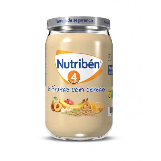 NUTRIBEN BOIAO 6 6 FRUTAS COM CEREAIS 235G
