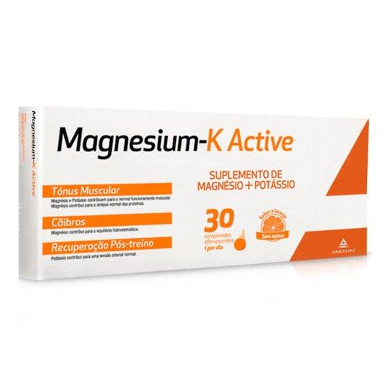 MAGNESIUM K ACTIVE X30 COMPRIMIDOS