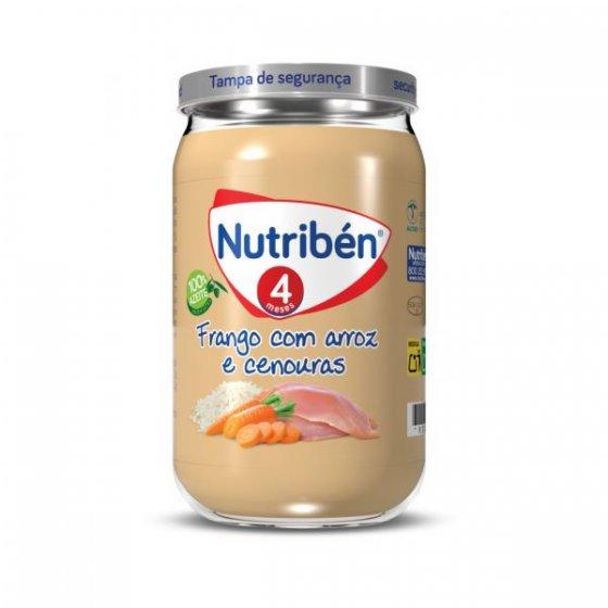 NUTRIBEN BOIAO 4 FRANGO ARROZ CENOURA 235G