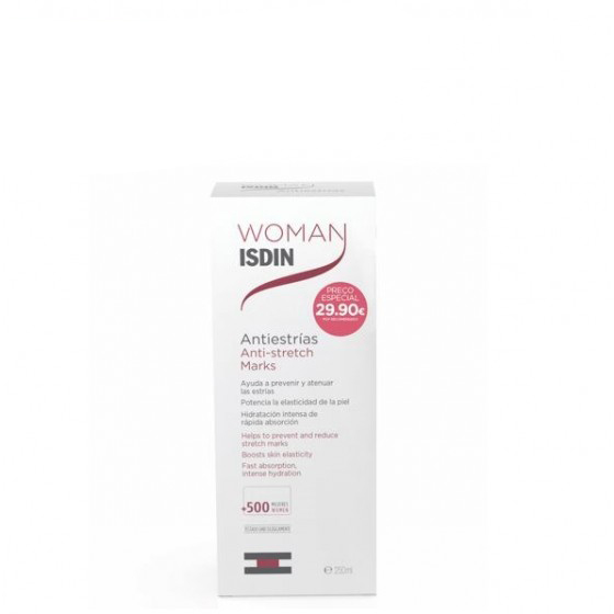 WOMAN ISDIN CR CORPO ESTR 250ML PREC ESP