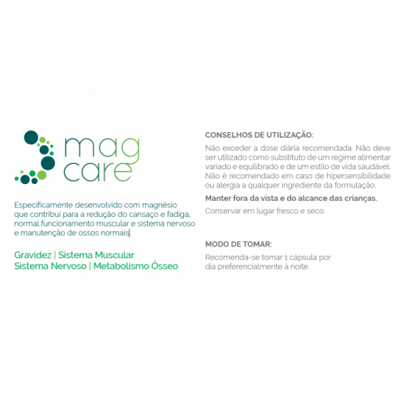 MAGCARE X30 CAPSULAS