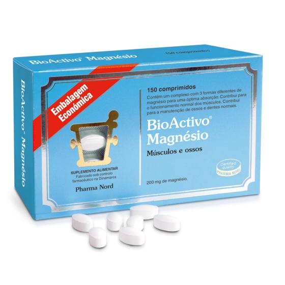 BIOACTIVO MAGNESIO COMPRIMIDOS X 150,