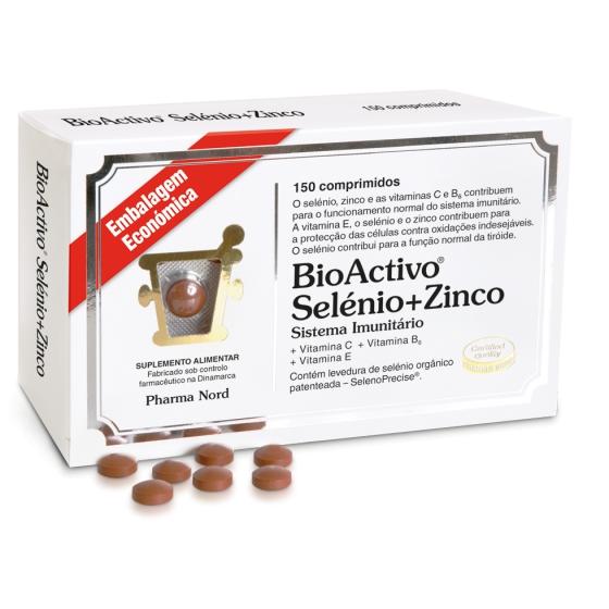 BIOACTIVO SELENIO+ZINCO X150 COMPRIMIDOS