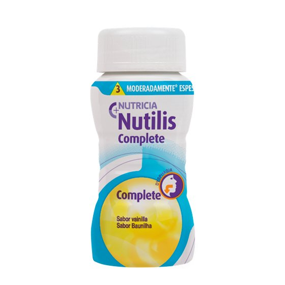 NUTILIS COMPLETE BAUNILHA 125ML X 4