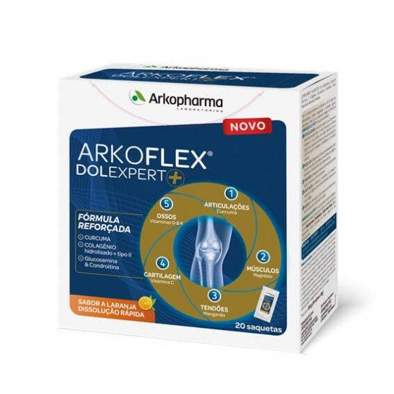 ARKOPHARMA ARKOFLEX DOLEXPERT SAQUETAS 20X10G