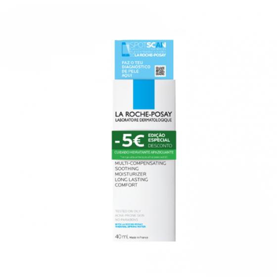La Roche-Posay EFFACLAR H CREME HIDRATANTE 40ML + DESCONTO 5E