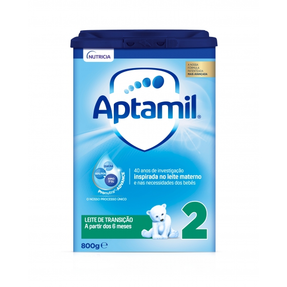 APTAMIL 2 PRONUTRA ADVANCE LEITE TRANSICAO 800G