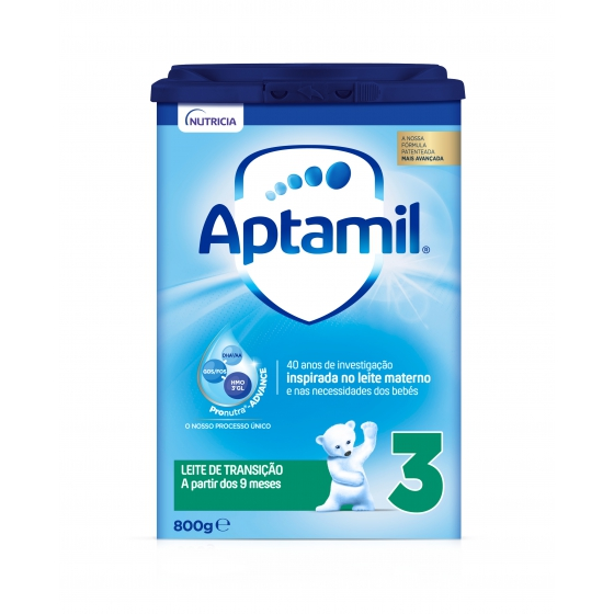APTAMIL 3 PRONUTRA ADVANCE LEITE TRANSICAO 800G