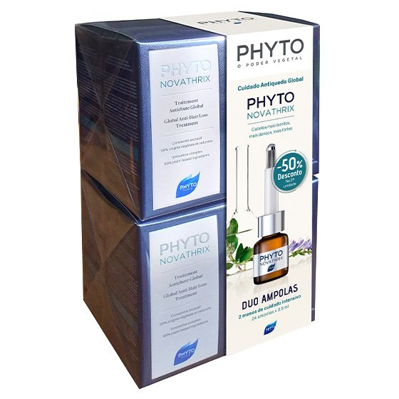 PHYTO PHYTONOVATHRIX DUO MONODOSES 2 X 12 X 3.5 ML COM DESCONTO DE 50% NA 2ª UNIDADE(S)