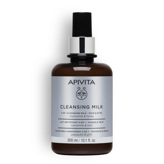 APIVITA CLEANSING MILK LIMPEZA ROSTO/OLHOS 300ML