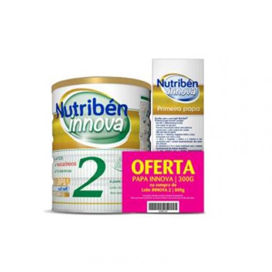 NUTRIBEN INNOVA 2 LEITE DE TRANSICAO 800 G COM OFERTA DE PRIMEIRA PAPA 300 G