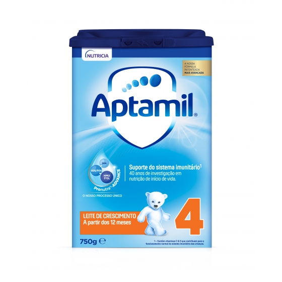 APTAMIL 4 PRONUTRA ADVANCE LEITE CRESCIMENTO 750G 12M+