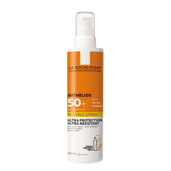 La Roche-Posay Anthelios Spray Invisível SPF50+ 200ml 200ml