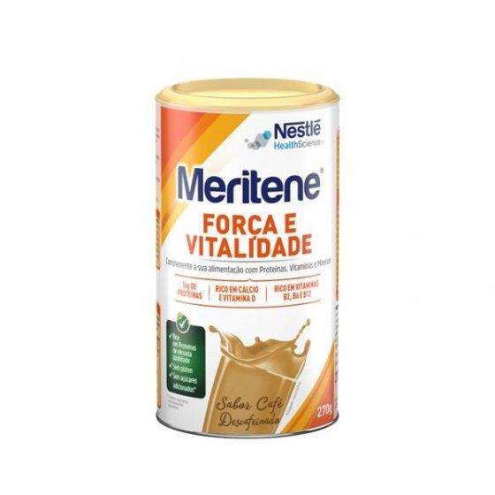 MERITENE FORCA VITALIDADE CAFE DESCAFEINADO 270G