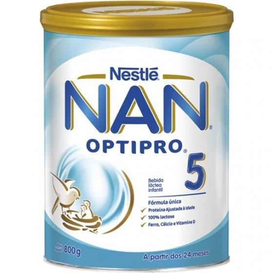 NAN OPTIPRO 5 LEITE CRESCIMENTO 800G