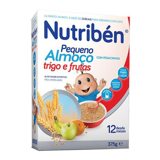 NUTRIBEN PEQUENO ALMOCO TRIGO FRUTA 375G