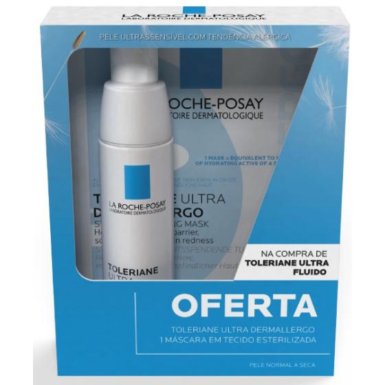 La Roche-Posay Tol Ultra Fl + OFERTA Mask Dermallergo 40ml