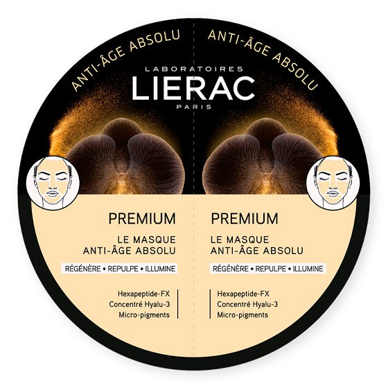 LIERAC PREMIUM MASCARA ANTI AGE ABSOLU 2X6ML