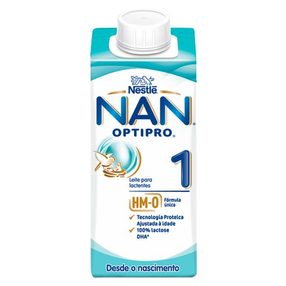 NAN OPTIPRO 1 LEITE LACTENTE 200ML