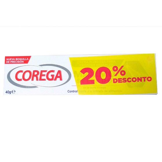 COREGA MAXIMO SELAMENTO CREME FIXADOR PARA PROTESE DENTARIA 40G COM 20% DE DESCONTO