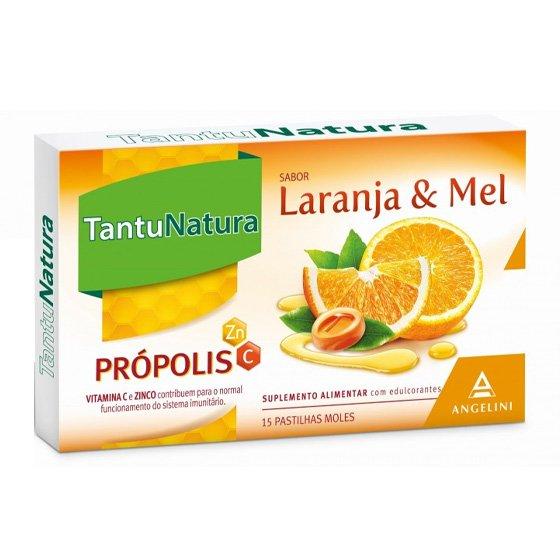 TANTUNATURA PASTILHAS LARANJA/MEL X15 UNIDADES