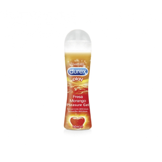 DUREX PLAY MORANGO PLEASURE GEL LUBRIFICANTE 50ML