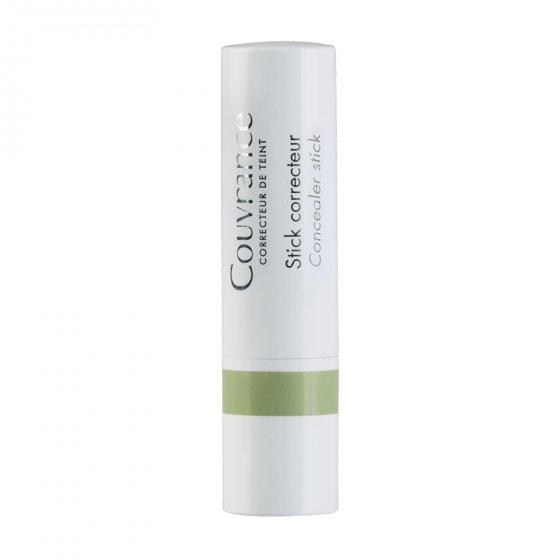 AVÈNE Couvrance Stick corretor Verde para pele sensível.  Embalagem de 4,2 gr