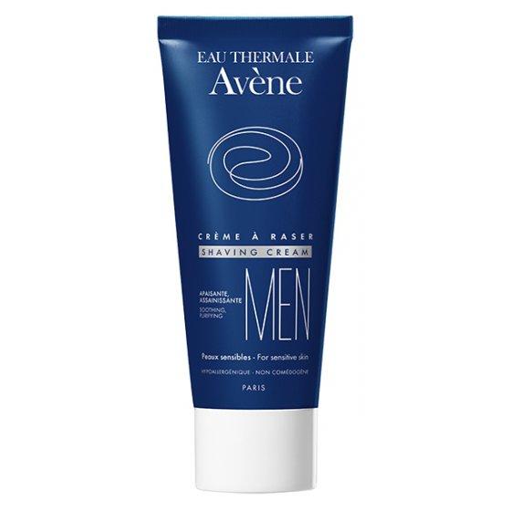 AVÈNE Creme de barbear para pele sensível. Embalagem de 100 ml