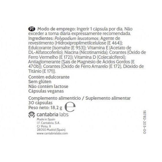 HELIOCARE 360 D PLUS X30 CAPSULAS