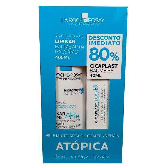 La Roche-Posay Lipikar Baume APM + 80% Cicaplast Baume 40ml 400ml