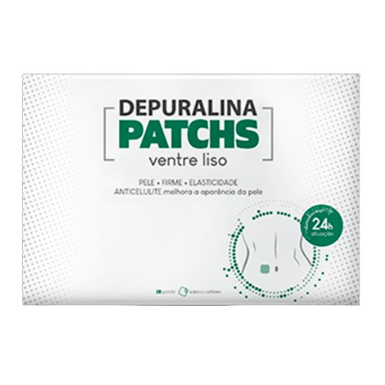 DEPURALINA PATCHES VENTRE LISO X28