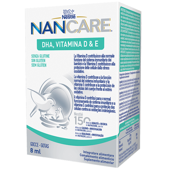 NANCARE DHA VITAMINA D&E GOTAS 8ML