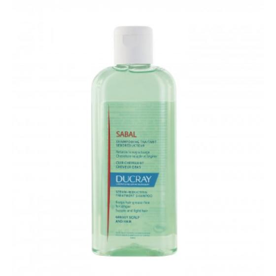 DUCRAY Sabal Champô para cabelos oleosos. Embalagem de 200 ml