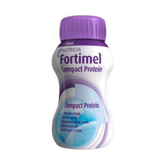 FORTIMEL COMPACT PROTEIN NEUTRO 125ML X 4