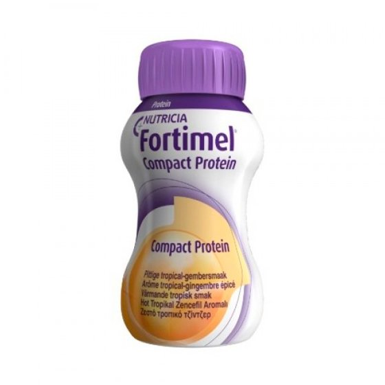 FORTIMEL COMPACT PROTEIN GENGIBRE TROPICAL 125ML X 4