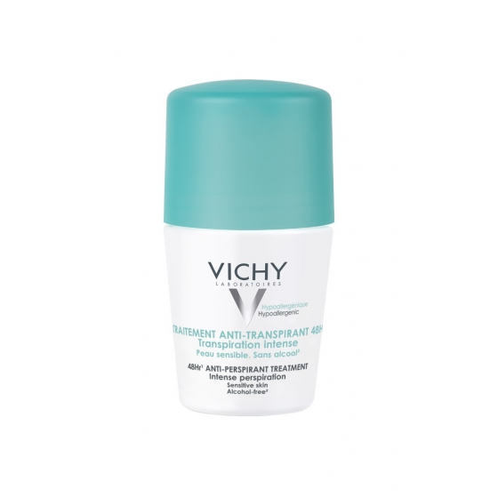 Vichy Desodorizante Roll-On Transpiração Intensa 48H 50ml