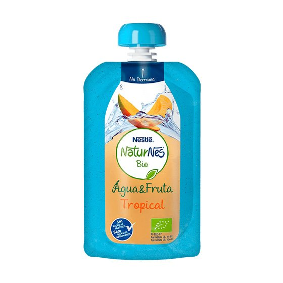 NESTLE NATURNES BIO AGUA FRUTA TROPICAL 120ML